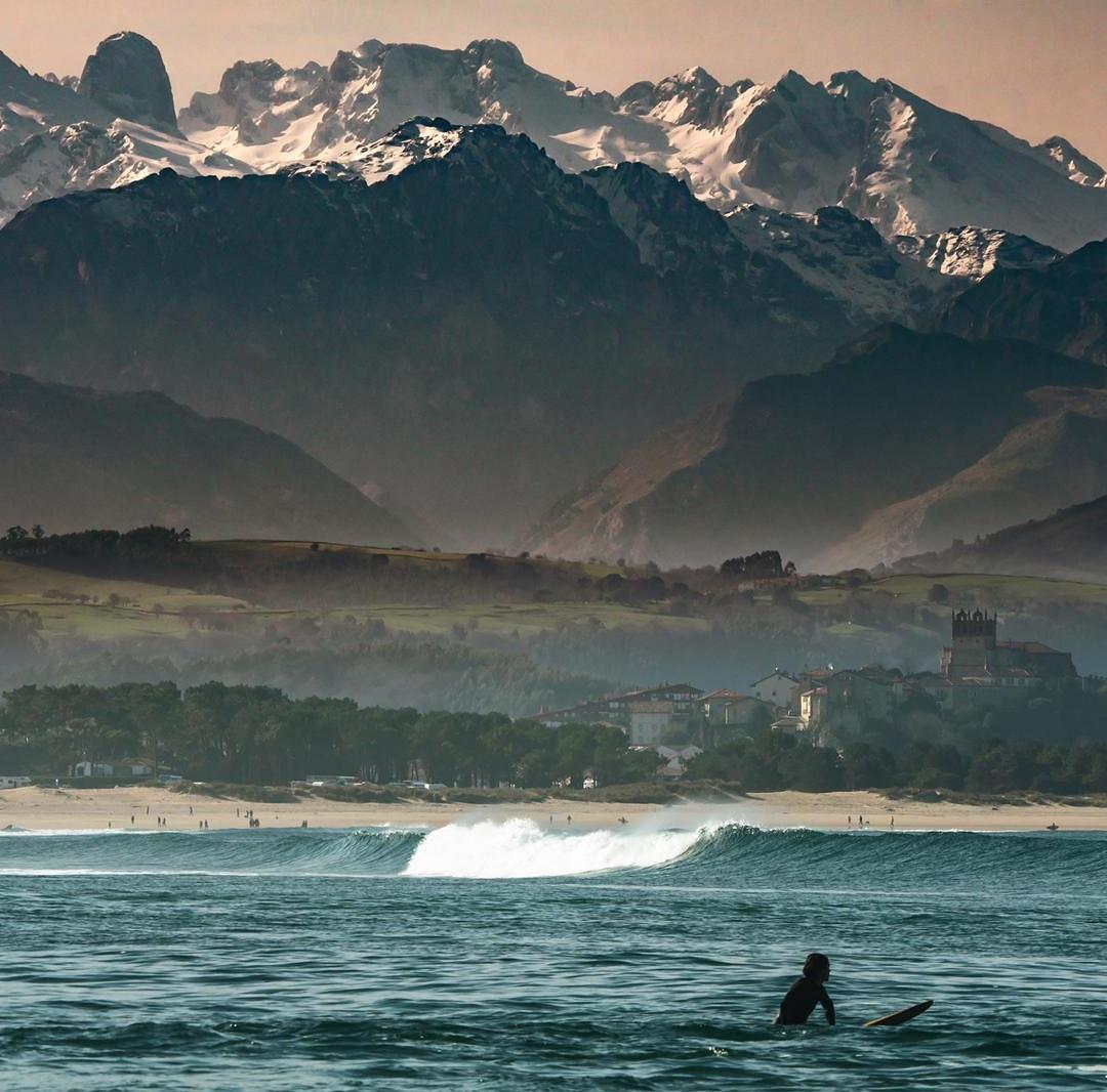 Reserva de Surf de San Vicente de la Barquera. Foto: Antonio Bretones